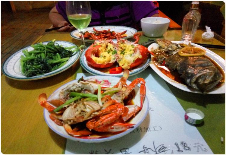人间有味是清欢(2)海南的海鲜宴和抱罗粉