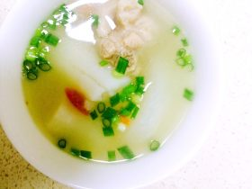 蘿卜山藥排骨湯