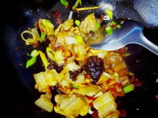 豆豉香菇五花肉,放入一勺豆豉