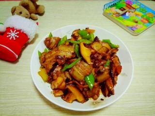 豆豉香菇五花肉,成品