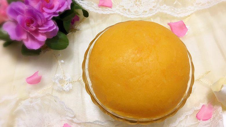 金沙奶黄馅(为月饼季而准备)