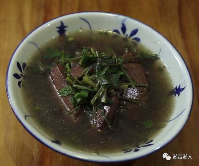 潮汕猪血汤