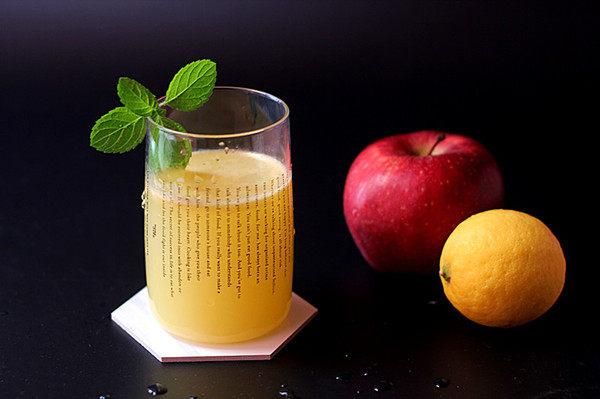 酸甜爽口的饮品---柠檬苹果汁