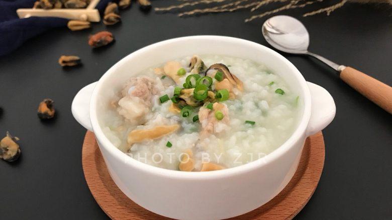 淡菜瑶柱排骨粥~健康养生靓粥
