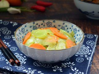 厨房挑战+素菜+清炒莴笋片