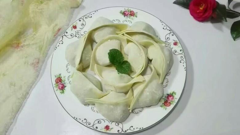 厨房挑战+荤菜+白荠菜猪肉大馄饨