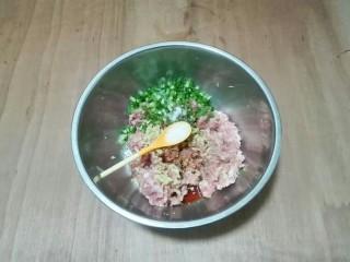 厨房挑战+荤菜+白荠菜猪肉大馄饨,放糖