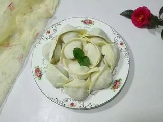 厨房挑战+荤菜+白荠菜猪肉大馄饨,鲜美白荠菜大馄饨来了