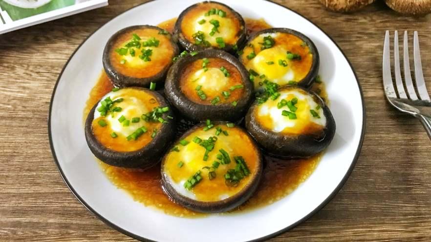 香茹蒸鹌鹑蛋