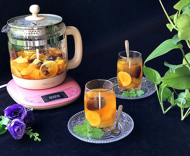 #百变水果# 水果养生茶