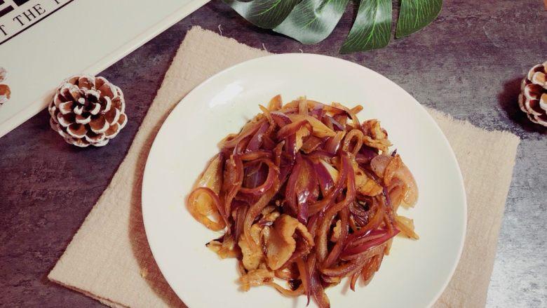 蚝油洋葱炒肉