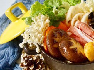 快手暖胃番茄火锅,日式的煮法