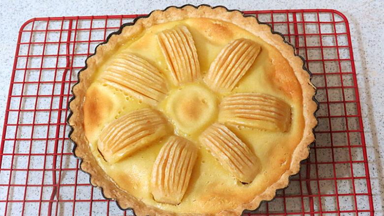 酥脆果香滴法式苹果派,完成