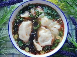 酸汤水饺(白菜鲜肉饺子)