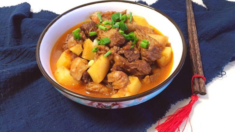 家常必备|土豆炖牛肉