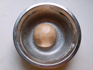 酒酿姜糖小圆子, 将糯米粉揉成光滑湿润的面团