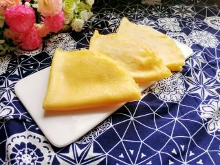 牛奶雞蛋玉米餅,換一個盤子,也是美美噠!