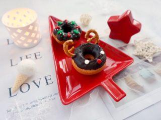 甜美可爱的圣诞甜甜圈,浓浓的圣诞气息~