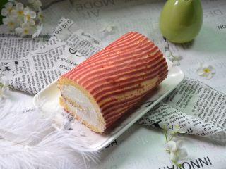 红丝绒树桩蛋糕卷