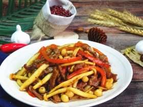牛柳海鲜菇