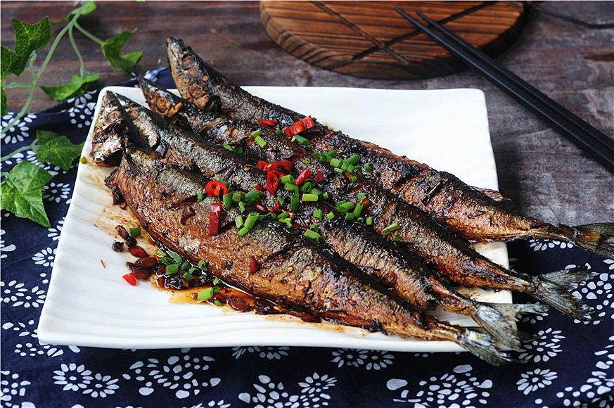 干锅秋刀鱼