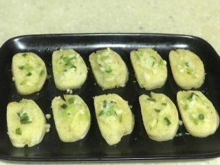 浅湘食光&蒜香馒头片,出烤箱