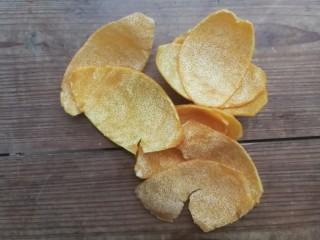 糖渍橙皮,所有橙皮去除白色瓤