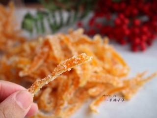 糖渍橙皮,真的很好吃啊~