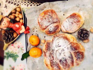 红糖黄油椰香面包(手工版),下午茶和明天的早餐就是你们啦😋😋😋😍