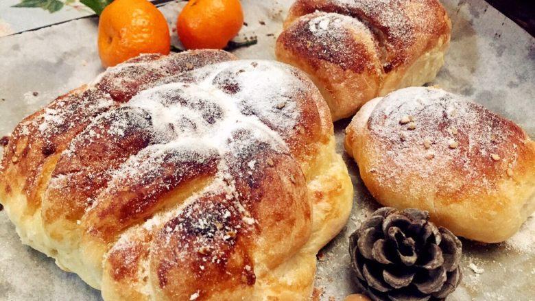 红糖黄油椰香面包(手工版)