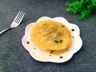椒香酥脆的饺子皮葱花饼