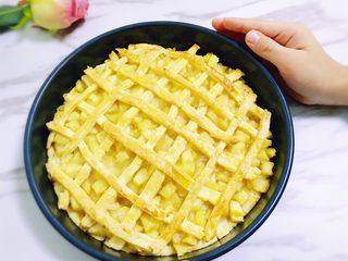 香甜的苹果派,出炉