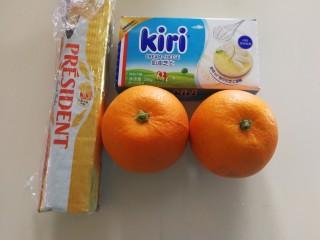 橙香红茶芋头磅蛋糕,准备材料