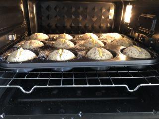 奇亚籽无糖小面包,烤箱提前预热,上火160度,下火170度,烤25分钟