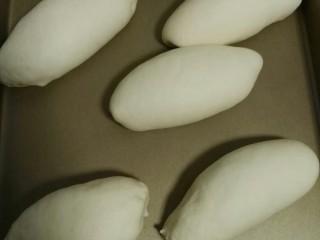 肉松面包,发酵箱温度不超过38℃,放一碗热水