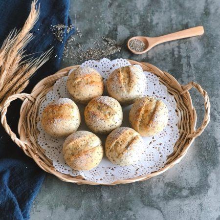 奇亚籽无糖小面包