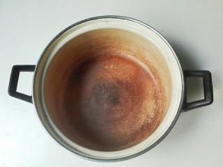 冬天里的一把火+焦(椒)香麻麻+盐炒花椒腌带皮五花肉咸肉,准备一个开水煮汤过的搪瓷锅