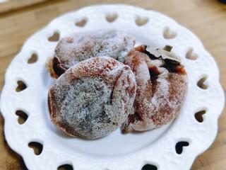 #柿子饼的特殊吃法#柿子饼包核桃-三种口味,柿子饼要用这种形状的,自然挂霜的,更健康,饼状的不太好包裹哈!