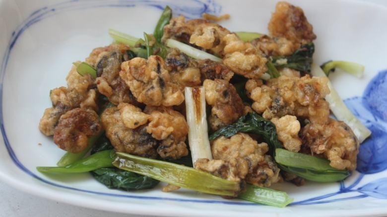 香炒炸牡蛎
