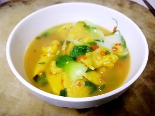 汤黄元米果