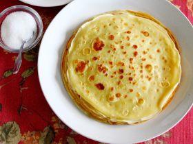 挪威薄煎饼Pannekake