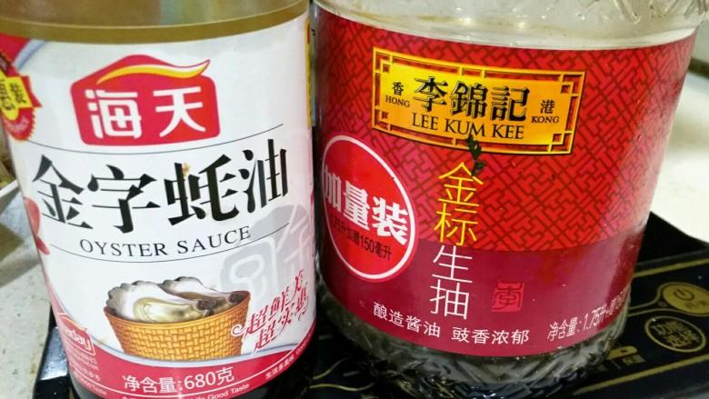 炒笋干,<a style='color:red;display:inline-block;' href='/shicai/ 721'>蚝油</a>和生抽。
