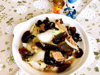 黑白菜,黑白菜出锅了
