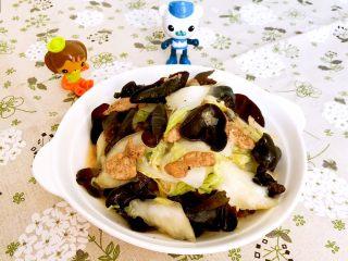 黑白菜,黑白菜清淡爽口,营养丰富,黑白分明~