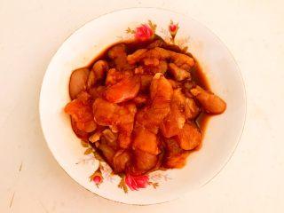 黑白菜,调匀后腌制5分钟
