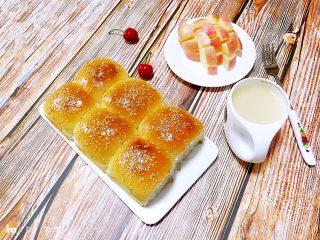 酸奶小餐包(一次发酵),成品!
