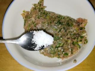 肉丸豆腐菠菜汤,加适量盐