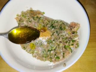 肉丸豆腐菠菜汤,食用油