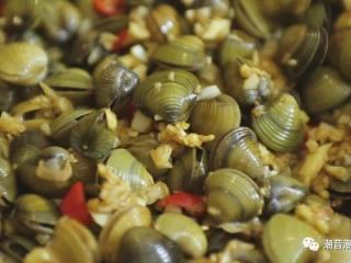 潮汕腌蚌,❥ 最后,成品完成,色香俱全