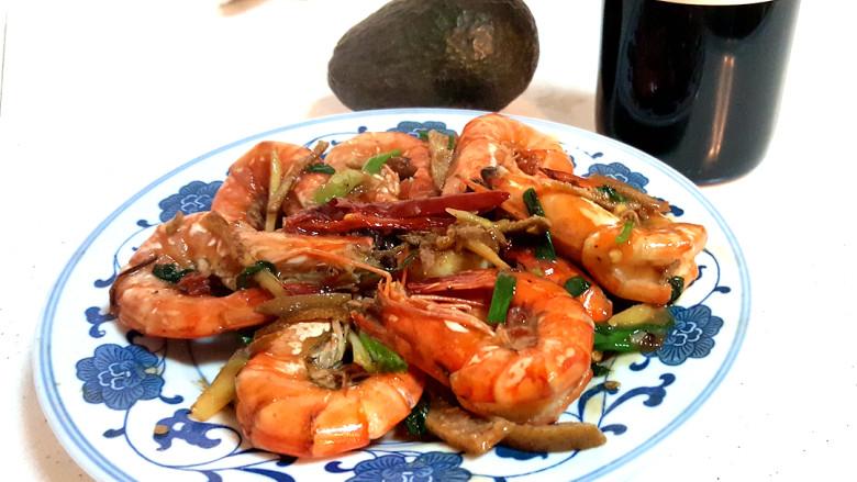 ~陈皮草虾~